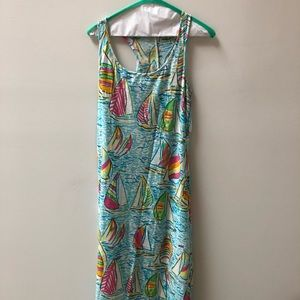 Lilly Pulitzer maxi dress You Gotta Regatta
